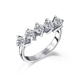 Five Stone Diamond Rings