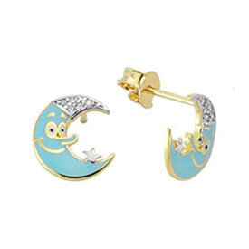 Kids Diamond Earrings